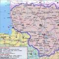 立陶宛旅游地图_立陶宛地图库