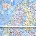 立陶宛地图(中英文版)_立陶宛地图库