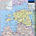 拉脱维亚旅游地图_拉脱维亚地图库