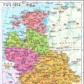 白俄罗斯地图(大字版)_白俄罗斯地图库