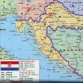 克罗地亚旅游地图_克罗地亚地图库
