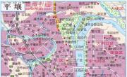 朝鲜平壤地图_朝鲜地图库