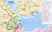 曼德海峡地图_非洲地图库