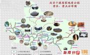北京十渡国家地质公园景区景点分布图_北京旅游地图库