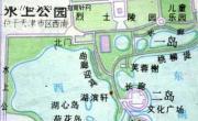天津水上公园导游地图_天津旅游地图库