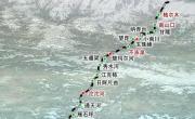 青藏铁路站点示意地图_交通地图库