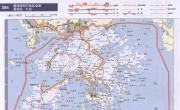 香港高速公路交通地图_交通地图库