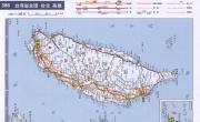 台湾高速公路交通地图_交通地图库