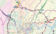 重庆绕城高速公路交通图_交通地图库