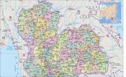 马来西亚地图高清中文版_马来西亚地图库
