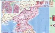 朝鲜行政地图_朝鲜地图库
