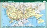 深圳旅游景点分布图_深圳地图库