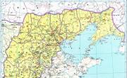 历史地图:山东北部诸郡_中国史稿地图地图库