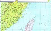 历史地图:福建路 (辽、北宋)_中国史稿地图地图库