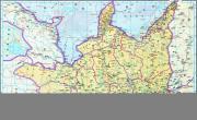 历史地图:陕西一(明)_中国史稿地图地图库