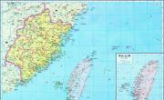 历史地图:福建(明)_中国史稿地图地图库