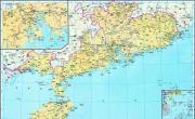 历史地图:广东(明)_中国史稿地图地图库