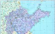 历史地图:山东(清)_中国史稿地图地图库