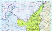 历史地图:陕西(清)_中国史稿地图地图库