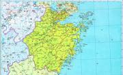 历史地图:浙江(清)_中国史稿地图地图库