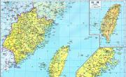 历史地图:福建(清)_中国史稿地图地图库