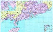 历史地图:广东(清)_中国史稿地图地图库