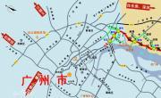 广深沿江高速公路走向图_交通地图库
