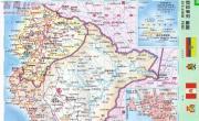 秘鲁全图中文版_秘鲁地图库
