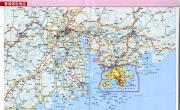 香港邻近地区地图高清版_香港地图库