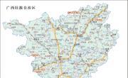 广西重点旅游景区分布图_重要景区地图库