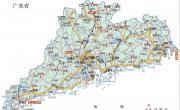 广东重点旅游景区分布图_重要景区地图库