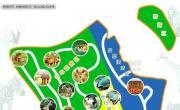海南热带野生动植物园导游图_海南旅游地图库