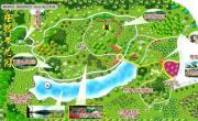 兴隆热带花园导游图_海南旅游地图库