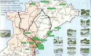 丹东旅游地图_辽宁旅游地图库