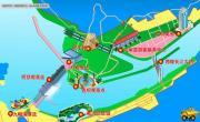 三峡大坝坝区导游图_湖北旅游地图库