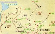 东方山旅游地图_湖北旅游地图库