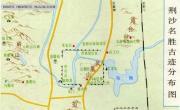 荆沙旅游地图_湖北旅游地图库