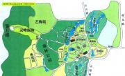杭州植物园导游图_浙江旅游地图库