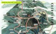 天目山旅游地图_浙江旅游地图库