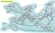 青芝山导游图_福建旅游地图库