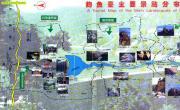 姜子牙钓鱼台导游图_陕西旅游地图库