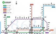 深圳地铁线路地图(新版)