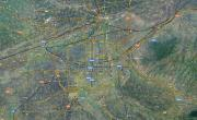 西安卫星路网地图_卫星地图地图库