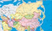 亚洲地图_亚洲地图库