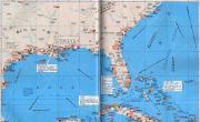 古巴、巴哈马、美国东南部沿海地区港口分布图_交通地图库