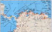 哥伦比亚、厄瓜多尔、秘鲁港口分布图_交通地图库