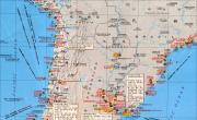 智利、阿根廷、乌拉圭港口分布图_交通地图库