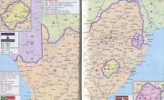 南非_莱索托旅游地图_非洲地图库