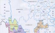 云南行政区划简图_行政简图地图库