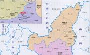 陕西行政区划简图_行政简图地图库
